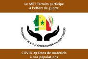 Communiqué de Presse : COVID 19 – Le MET Terroirs participe à l'effort de guerre