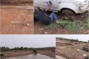 Kounghany isolé à cause des fortes pluies, les chauffeurs en désaroi